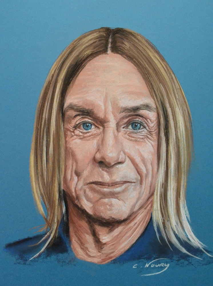 Iggy Pop by Andromaque